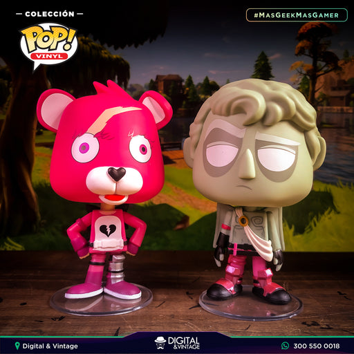 Funko Cuddle Team y Love Ranger - Fortnite - Vynl