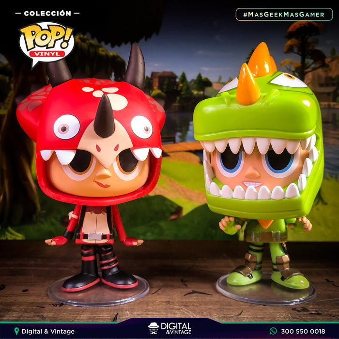 Funko Fortnite Rex y Tricera Ops - Fortnite - Vynl