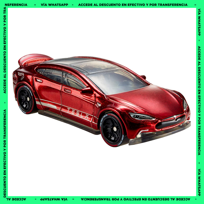 Hot Wheels ID Tesla Model S - Factory Fresh