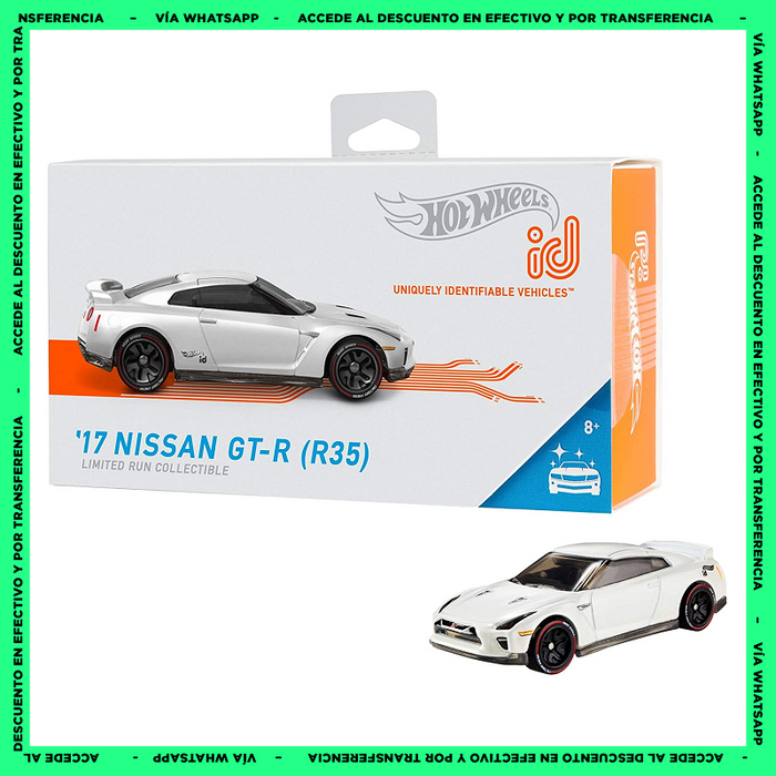 Hot Wheels ID ´17 Nissan GT-R - Factory Fresh