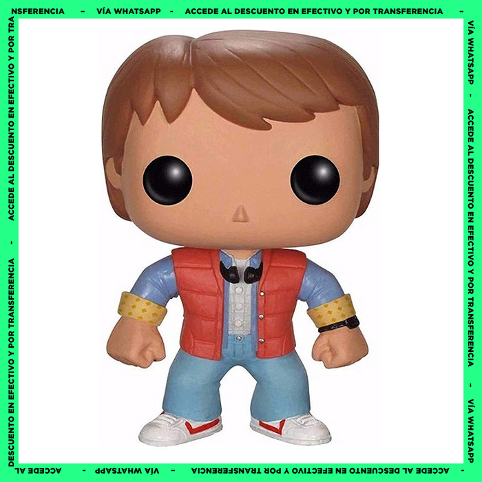 Funko Pop Marty McFly (49) - Back To The Future