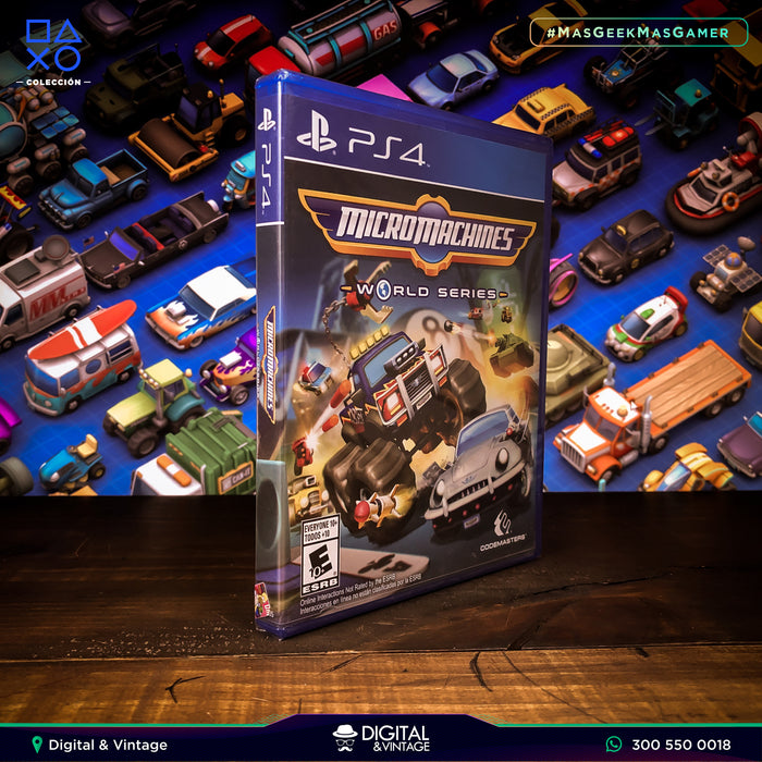 Micromachines World Series - Juego PS4 - Juegos PlayStation