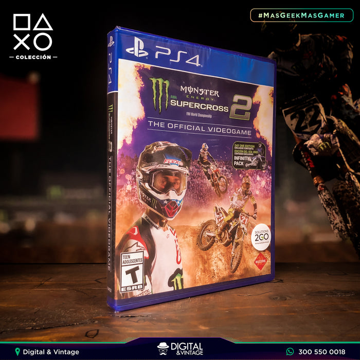Monster Energy SuperCross 2 - Juego PS4 - Juegos PlayStation