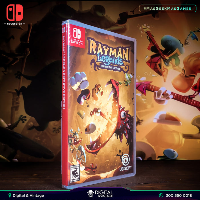 Rayman Legends - Juego Nintendo - Juegos Nintendo Switch