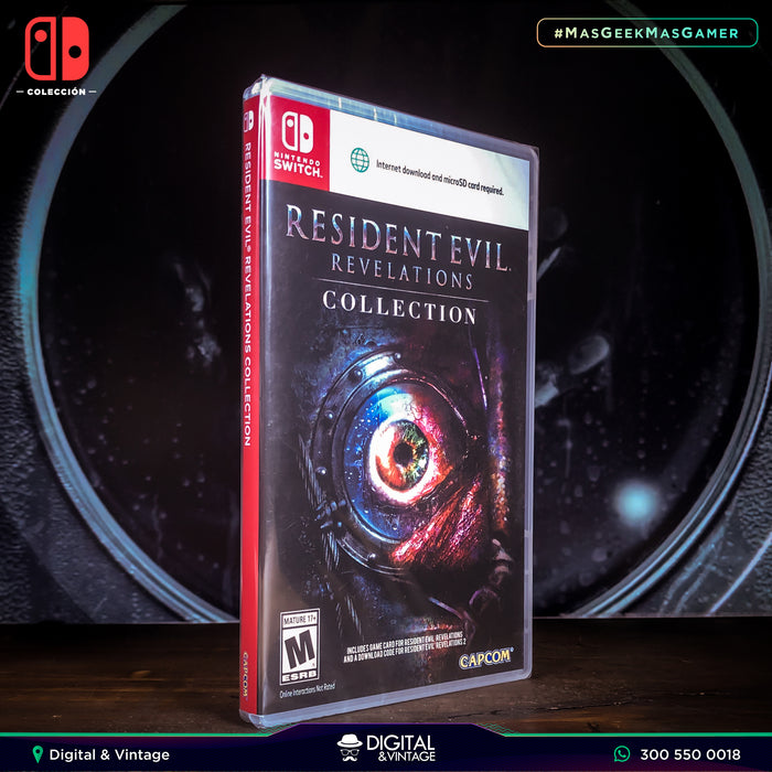 Resident Evil Revelations Collection - Juego Nintendo - Juegos Nintendo Switch