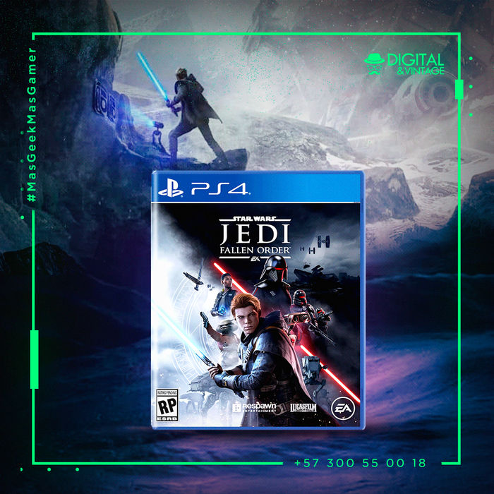 Star Wars Jedi Fallen Order - Juego PS4 - Juegos PlayStation