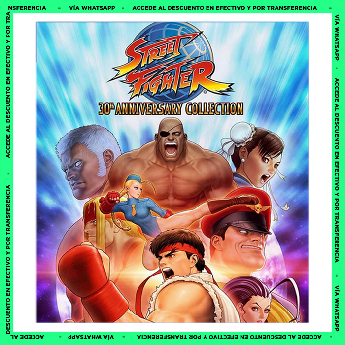 Street Fighter 30 Años