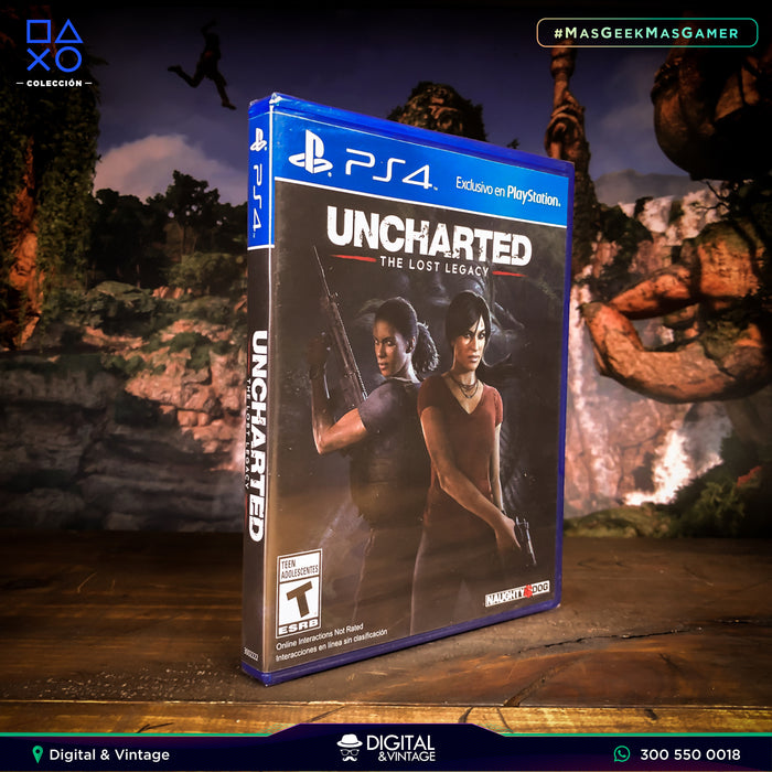 Uncharted The Lost Legacy - Juego PS4 - Juegos PlayStation