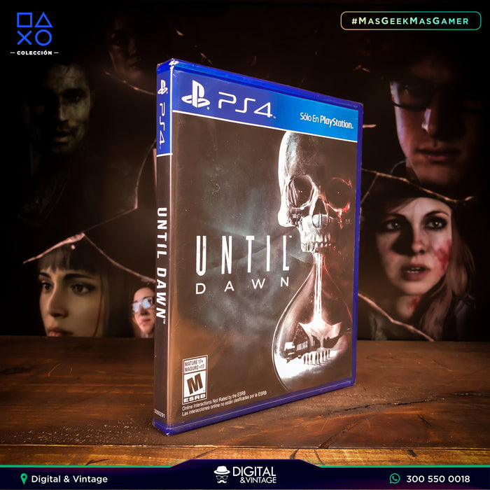 Until Dawn - Juego PS4 - Juegos PlayStation