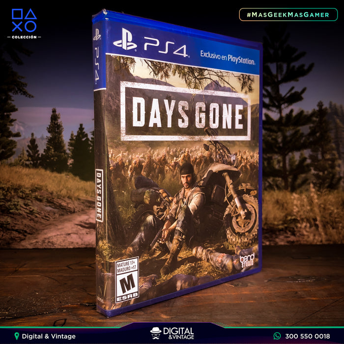 Days Gone - Juego PS4 - Juegos PlayStation