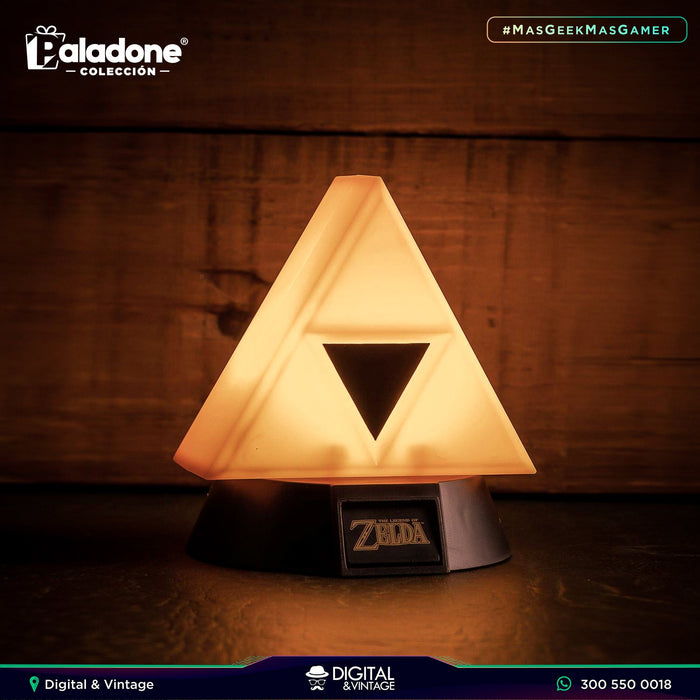 Lampara Zelda Tri-Force™ 3D Light - Producto Licenciado - Paladone