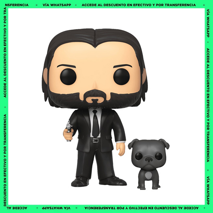 Funko Pop John Wick With Dog (580) - John Wick