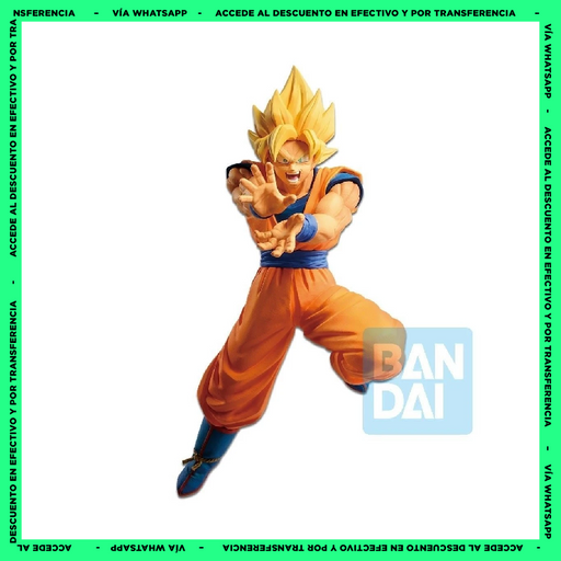 Figura - Dragon Ball Z - The Android Battle with Dragon Ball Fighterz Super Saiyan Son Goku - Bandai.