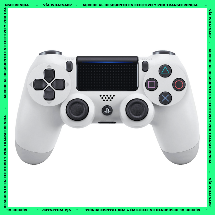Control PS4 Blanco - Dualshock - Mando Playstation