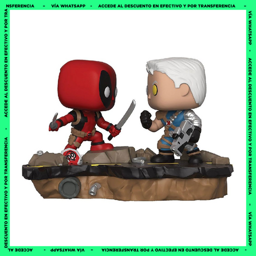 Funko Pop Deadpool Vs Cable - (318) - Deadpool - Marvel - Moments