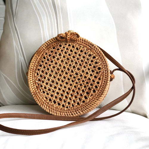 The Cape Cod Cane Crossbody (Available in Two Styles)