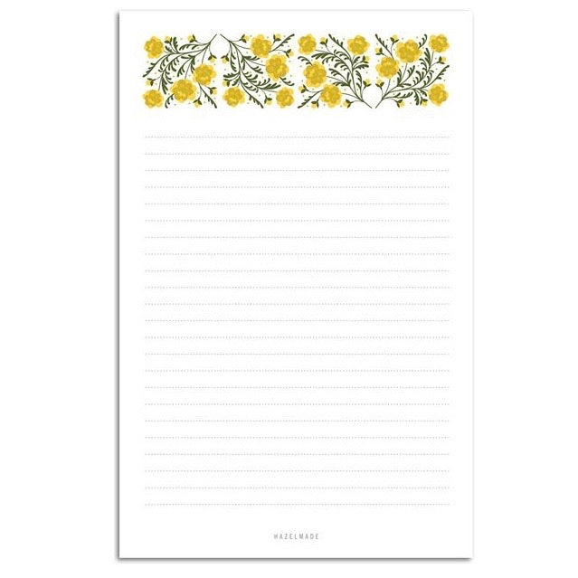 Marigold Large Notepad