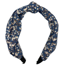 Load image into Gallery viewer, Blue Poppy Top Loop Headband