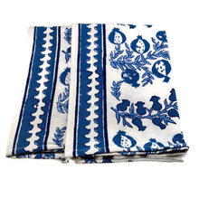 Load image into Gallery viewer, Pom Bells Wedgewood Tea Towels, Set of 2