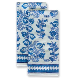 Pom Bells Wedgewood Tea Towels, Set of 2