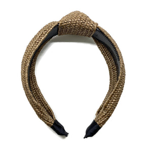 Traditional Rattan Topknot Headbands (8 Color Options)