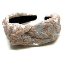 Load image into Gallery viewer, Livia Lace Topknot Headband