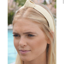 Load image into Gallery viewer, Traditional Rattan Topknot Headbands (8 Color Options)