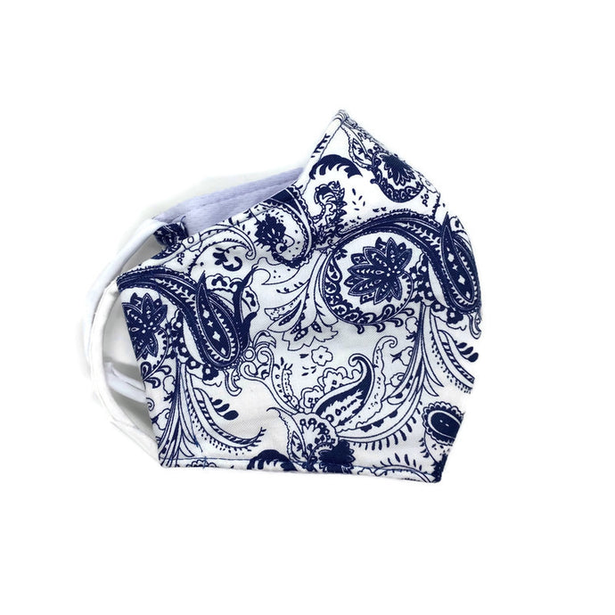 Modern Bandana Cotton Face Mask - S/M