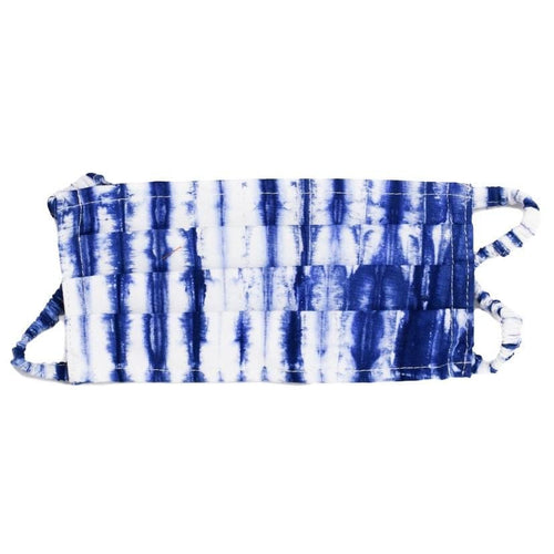 Adult Face Mask - Tie Dye - Blue/White