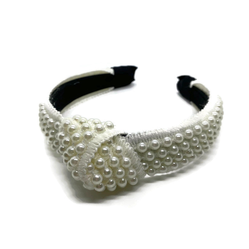 Pearl Topknot Headband (Restocked!)