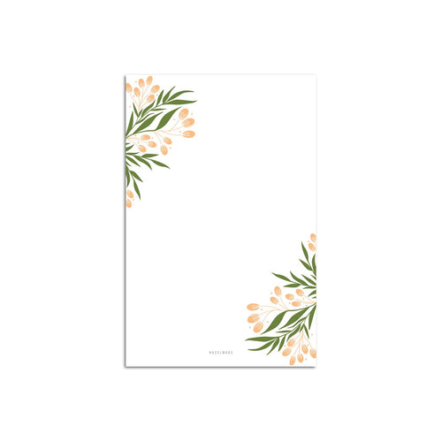 Tuscan Florals Large Notepad