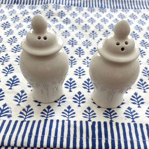 Porcelain Ginger Jar Salt & Pepper Shakers
