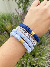 Load image into Gallery viewer, Personalized Heishi Beaded Bracelet (14 color options)