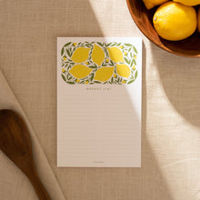 Load image into Gallery viewer, Lemon Market Large Notepad