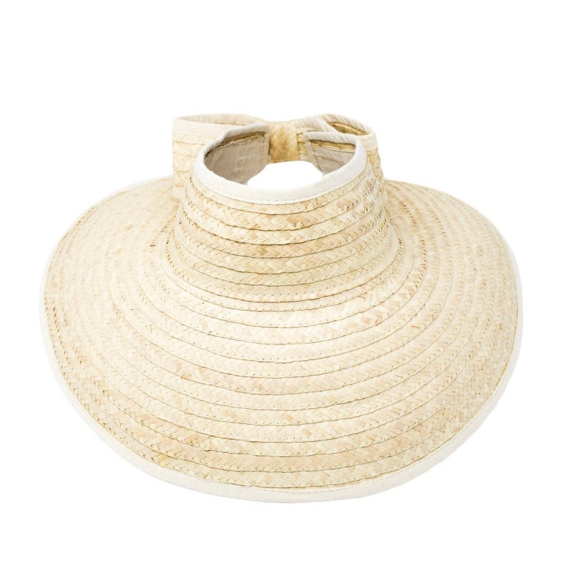Lucy Palm Sun Hat - Adjustable