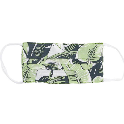 Palm Leaf Reusable Face Mask (One Size Fits All)