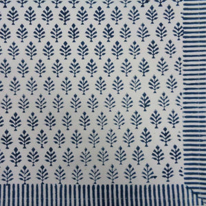 Neem Majolika Block Print Cotton Placemats (Set of Two)