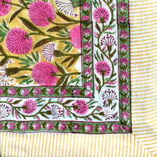 Load image into Gallery viewer, Yellow Pink Blossom Pareo Sarong