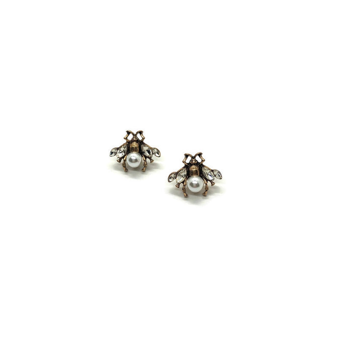 Antique Bee Studs