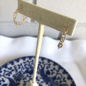 Chain Link Mini Hoops