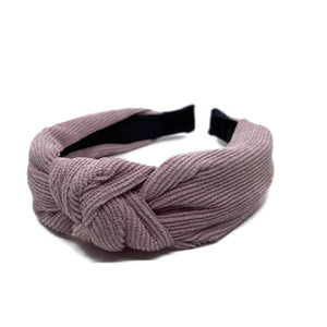 Corduroy Topknot Headbands (3 Color Options)