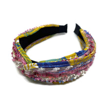 Load image into Gallery viewer, Multicolor Fringe Top Loop Headband