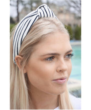 Load image into Gallery viewer, Bold Stripe Topknot Headband