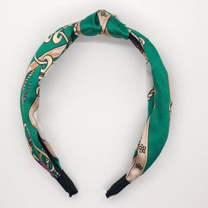 Silk Links Scarf Topknot Headband (2 Color Options)