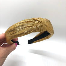 Load image into Gallery viewer, Goldie Topknot Headband