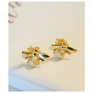 Bee Gold Studs