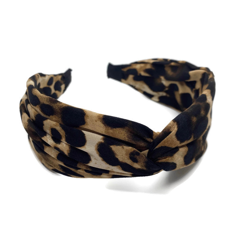 Leopard Top Loop Headband