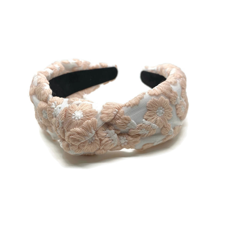 Livia Lace Topknot Headband