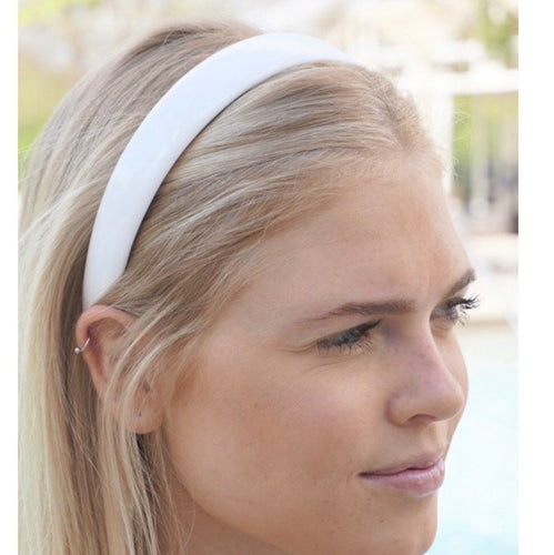 White Band Headband