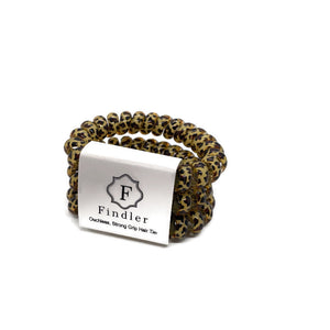 Leopard Ouchless Hair Ties
